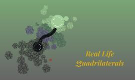 Real Life Quadrilaterals