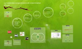 Copy of Comment mesurer les comportements de consommation éthique