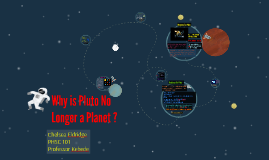 Why is Pluto No Longer a Planet ?