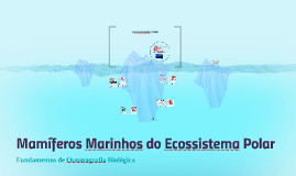 Mamíferos Marinhos do Ecossistema Polar