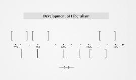 Development of Liberalism