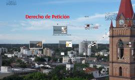 Derecho de Petición (Art. 23 C.P.) Ley 1755 de 2015