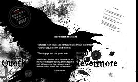 Copy of Dark Romanticism