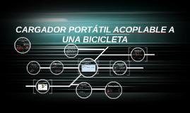 Copy of CARGADOR PORTÁTIL ACOPLABLE A UNA BICICLETA