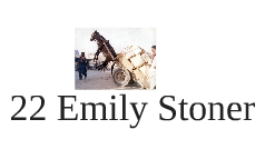 22 Emily Stoner