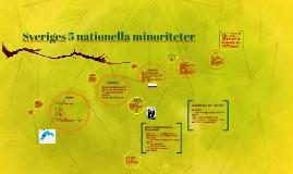 Sveriges 5 nationella minoriteter