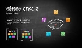 Código HTML 5