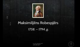 Maksimiljēns Robespjērs