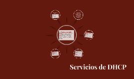 Servicios de DHCP