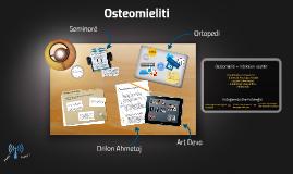 Osteomieliti, Drilon Ahmetaj