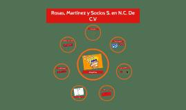 Rosas, Martinez y Socios S.N.C. De C.V