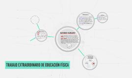 TRABAJO EXTRAORDINARIO DE EDUCACIÓN FÍSICA