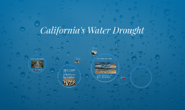 California's Water Drought