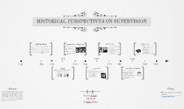 HISTORICAL PERSPECTIVES ON SUPERVISION