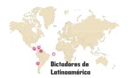 Late 20th Century Dictators of Latin America