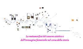la metamorfosi del canone estetico e dell'immagine femminile nel corso della storia
