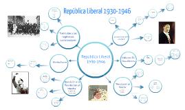 República Liberal 1930-1946