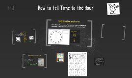 How to tell Time to the Hour