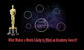 What Makes a Movie Likely to WInd an Academy Award?