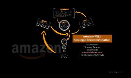 Amazon HQ2: Strategic Recommedations