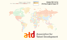 October NAC Call for ATD New England/Upper NY