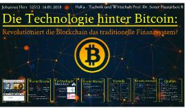 Die Technologie Hinter Bitcoin: Die Blockchain