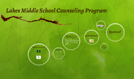 Lakes Magnet Middle School Counseling Program