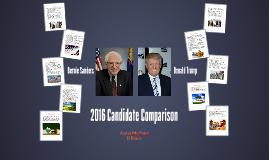 2016 Candidate Comparison