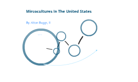 Microcultures In The United States