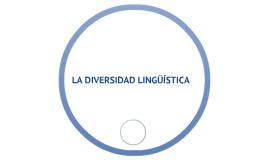La diversidad lingüística