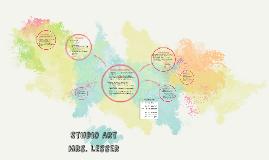 Studio Art Introduction (syllabus review)