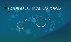 Copy of CODIGO DE EVACUACIONES