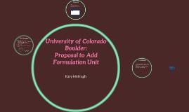 University of Colorado Boulder: