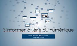 S'informer dans le monde du numérique exemple
