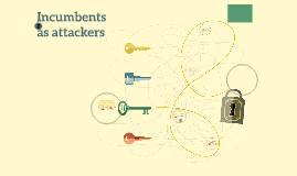 Incumbents as attackers