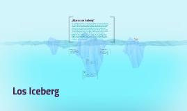 Derretimiento de los Iceberg