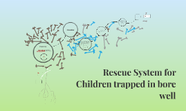 Rescue System for Children trapped in bore well
