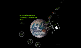 Ambassadors Training on Professionalism
