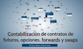 Copy of Contabilización de contratos de futuros, opciones, forwards