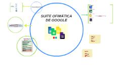SUITE OFIMATICA DE GOOGLE