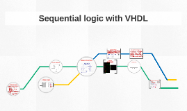 Sequential logic with VHDL
