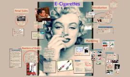 E-Cigarrettes ??