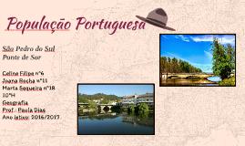 População Portuguesa- São Pedro do Sul, Ponte de Sor