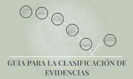GUIA PARA CONSTRUIR UN PORTAFOLIO DE EVIDENCIAS
