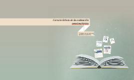 Constructivismo y evaluacion educativa