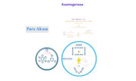 Kosmogenesis - Deutsch