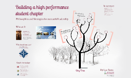 Building a high performance student chapter