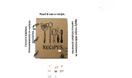 avid life goals essay by belinda knott on prezi recipe parts and kitchen math
