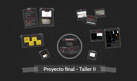 Proyecto final - Taller 2
