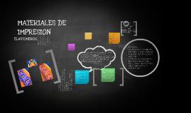 MATERIALES DE IMPRESION 2